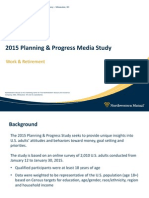 2015 Planning and Progress - Work and Retirement