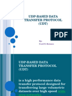 UDP-based Data Transfer Protocol (UDT)
