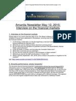 Amanita Newsletter e