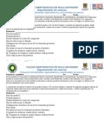 Propiedades de compuestos quimica