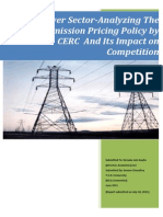 Transmission Policy by CERC and Its Effect_2009