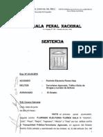 Sentencia Artemio