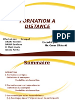 les formations à distances