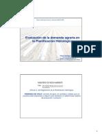Demandas de Riego Clase Hidrologia 2008