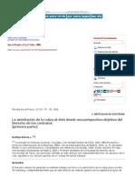 Ius Et Praxis - La Asimilación de La Culpa Al Dolo Desde Una Perspectiva Objetiva Del Derecho de Los Contratos_ Primera Parte