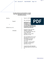 Doe v. SexSearch.com et al - Document No. 77