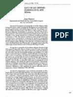 El Arbol Genealogico de Las Ordenes Franciscana Y Dominicana