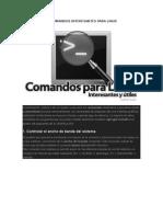 10 Comandos Interesantes Para Linux
