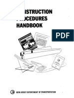 Construction Procedures Handbook