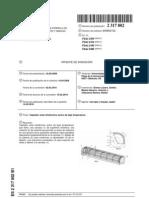 Captador solar fototérmico activo de baja temperatura