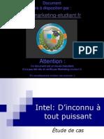 Intel Etude de Cas