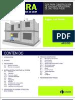Manual Para Maestros de Obra - Guía Para Construcción de Vivienda Tradicional de Uno y Dos Pisos