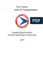 Standard Specifications for Road and Bridge Construction 2007