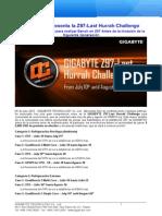 GIGABYTE Presenta La Z97-Last Hurrah Challenge