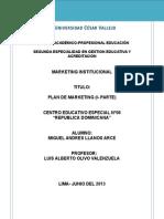 Plan de Marketing Cebe - Rep Dominicana