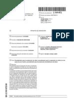 Procedimiento para la producción de silicio, procedimiento para la separación de silicio
