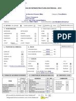 Ficha Técnica de Infraestructura Asistencial 2012 - CAP I Milpo