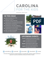 Carolina For The Kids Summer 2015 Newsletter