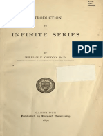 Infinite Series by Osgood