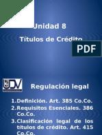 Legislación Civil y Mercantil Unidad 8