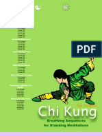 Chi kung for Health Breathing Sequences Chit Sheet