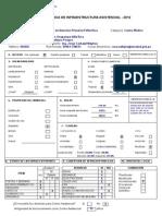 Ficha Técnica de Infraestructura Asistencial 2012 - CAPII Villa Rica