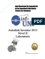 Manual Inventor 2014 - Nivel 2 - Laboratorio
