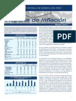 Reporte de Inflacion Marzo 2013 Sintes