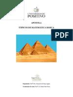 Apostila Tópicos de Matemática Básica
