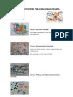 Técnicas de Pintura Para Educação Infantil