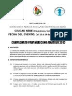 Campeonato Panamericano Amateur 2015