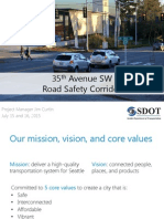 SDOT's 35th SW slide deck, July 2015