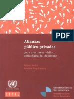Alianzas Publico Privadas Vision Del Desarrollo Max
