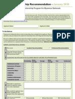 Internship Recommendation Internship Asia)