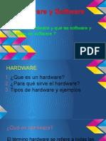 Hardware y Software y tipos de software del PC.ppsx