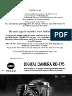 Minolta Rd-175 Digital Camera