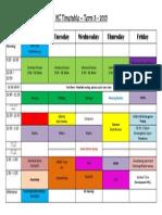 kc 2015 t3 timetable