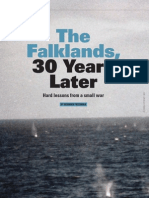 111441497 Friedman N 2012 the Falklands 30 Years Later Hard Lessons From a Small War Defense Magazine