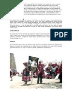 El Conjunto o Danza Carnaval de Angara Del Distrito de Vila Vila