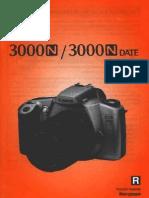 manual de camara cannon  2300