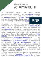 Personajes ilustres, militares y civiles del Perú