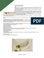 Tapioca caboquinha e de geléia de cupuaçu com sorvete de tapioca