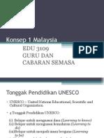 Kuliah 2 - Konsep 1 Malaysia, Tonggak UNESCO, Globalisasi, edit.ppt