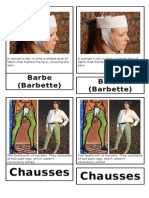 Middle Ages Spelling Vocabulary 3 Part Cards 2