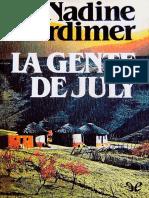 Gordimer, Nadine - La Gente de July