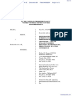 Doe v. SexSearch.com et al - Document No. 83
