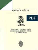 Quinceañera Guidelines