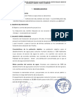 Resumen Ejecutivo San Ignacio
