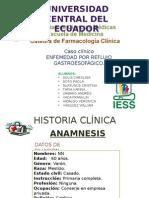 Caso Clinico Enfermedad Por Reflujo Gastroesifagico - 2015 Farmacologia