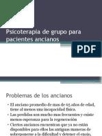 Psicoterapia de grupo para pacientes ancianos.pptx